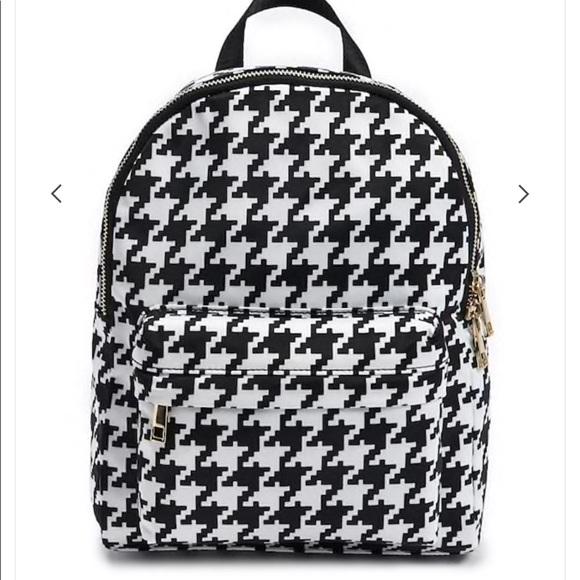 07c49e5e8b99 Forever 21 Handbags - Black and white mini backpack from forever 21